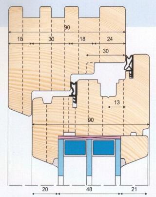 Medinių langų gamybos įrankiai.