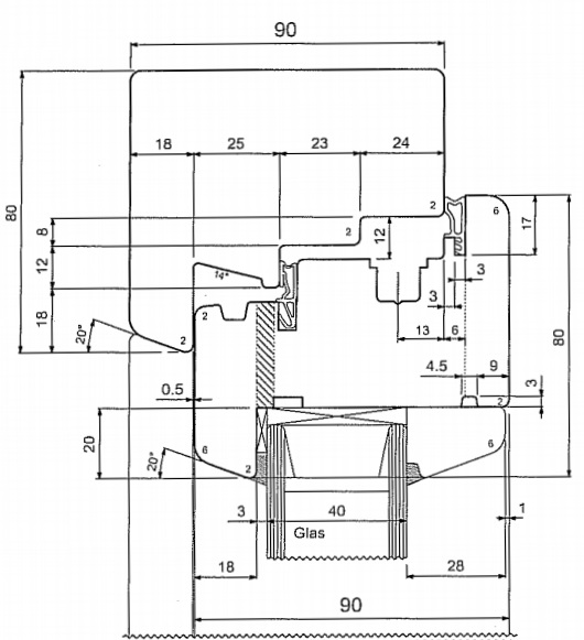 Langų gamybos JV90 frezų komplektas